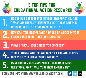 5 TOP TIPS FOR_ Educational Action Research