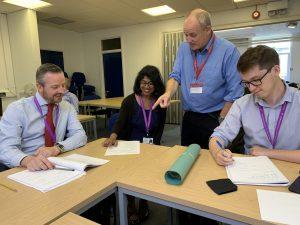 Trainee Teachers learn about behaviour